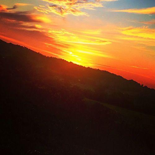 Sunset Landscape Sky