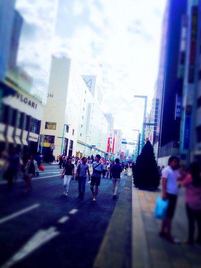 Japan Tokyo Shibuya 歩行者天国 Street