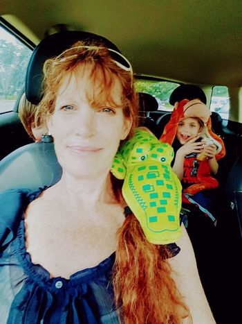 Second Acts Redhead Childhood Looking At Camera Child Smiling Happiness Togetherness Two People People Fun Cheerful Enjoyment Grandson Day Car Riding In The Car Timewithkids Timewithfamily Childhood Memories Childhoodunplugged Childhoodmemories Grandma! Minnesotalife Love My Family ❤ Love Yourself
