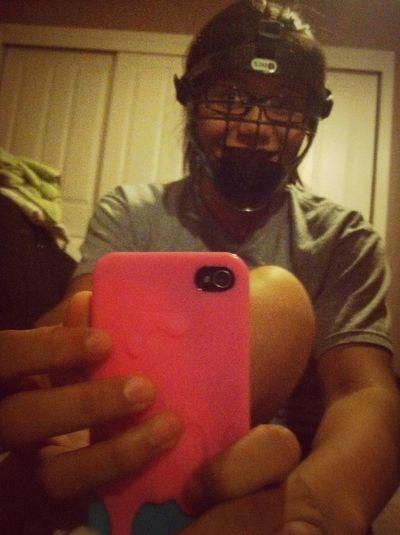 Softball Face Mask!