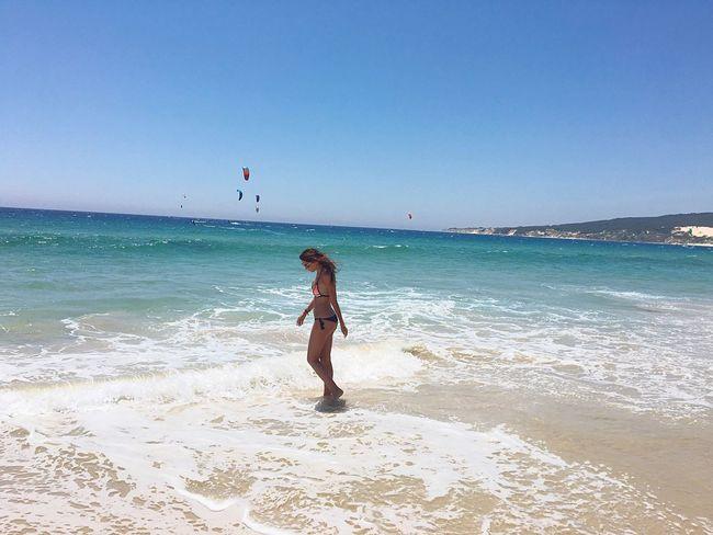 Tarifa Mojito! Postureo Playa #beach
