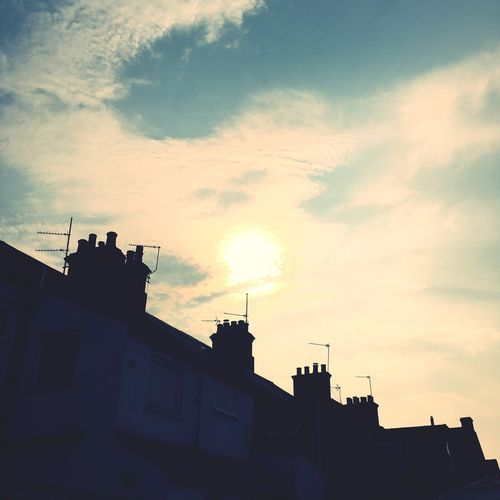 Lastofsummer Sun Yellow Sky Photography Before The Storm United Kingdom Newbury Uk No People Beauty In Nature
