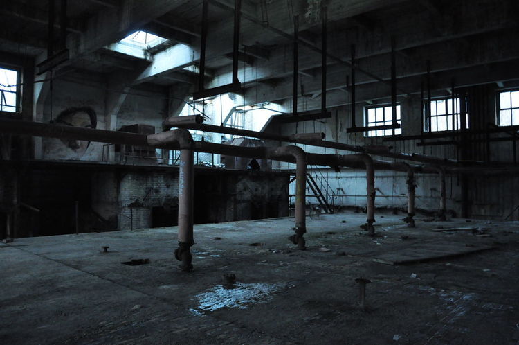 Abandoned Damaged Day Factory Indoors  Industry Interior No People Obsolete