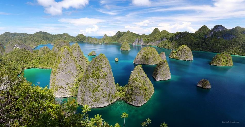 Amazing Raja Ampat Landscape Nature INDONESIA Rule Of Thirds EyeEm Nature Lover EyeEm Best Shots - Nature Rajaampat The Great Outdoors - 2015 EyeEm Awards The Great Outdoors February