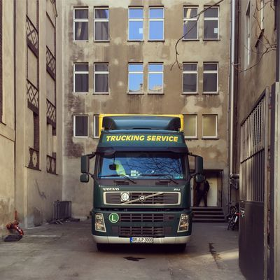 Architecture Backyard Berlin Photography Parking Lot Volvo Abstract Altbau Architecture Berliner Ansichten Berlinstagram Building Exterior Built Structure Car City Day Land Vehicle Minimal Mode Of Transport Outdoors Real People Street Transportation Truck Windows Yard