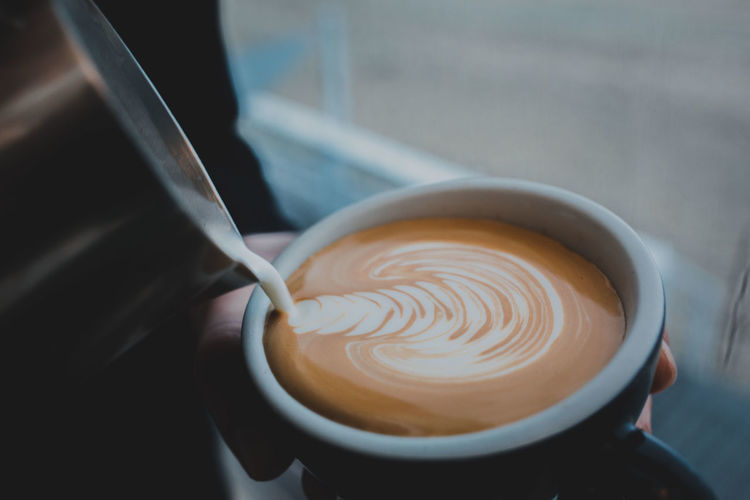 Coffee Coffee Shop Coffee Time Coffee ☕ Flat White Latte Coffee - Drink Coffee Break Coffee Cup Coffeetime Latte Art Latte Art Lover Latte Photography Latteart