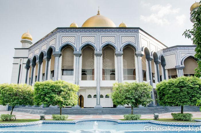 Jame'Asr Hassanil Bolkiah Mosque, Brunei Darussalam Architecture Architecture Bandar Seri Begawan Brunei Brunei Darussalam Dome Façade Gdziesakasperki Islam Islamic Mosque Muslim Religion Religion And Beliefs Sultanate Tourism Travel Destinations