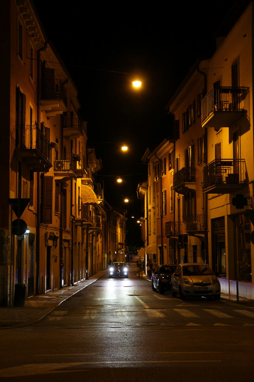 architecture, illuminated, night, building exterior, street, built structure, city, transportation, the way forward, road, no people, outdoors
