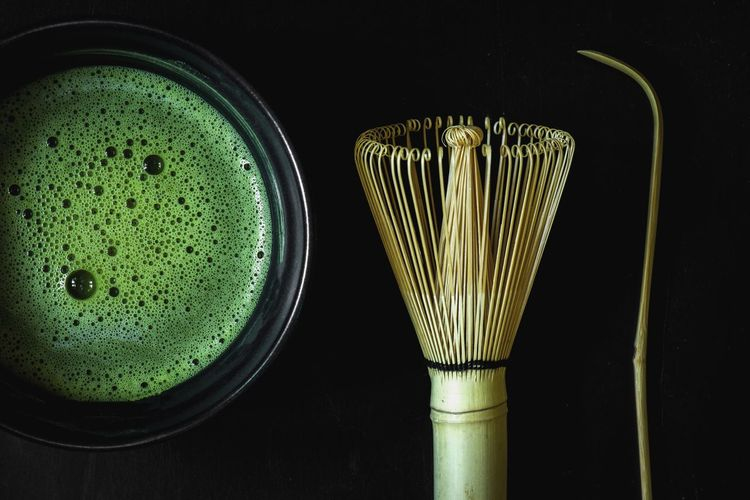 Matcha green tea Matcha Green Tea Tea Matcha Tea Wallpaper Backgrounds Hot Drink Zen Raw Black Japan Powder Hot Drink Indoors  Still Life No People Green Color Close-up Food And Drink Table Black Background Food Studio Shot Glass - Material Drink Glass