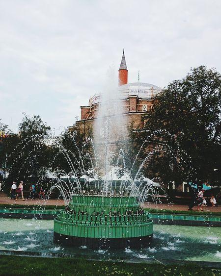 City Water Tree Spraying Water Slide Motion Irrigation Equipment Clock Tower Long Exposure Swimming Pool Flowing Water Falling Water Drinking Fountain Fountain Splashing Droplet