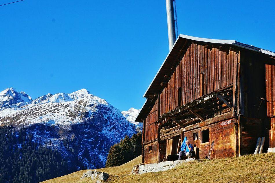 Winter Nature Switzerland Sunny☀ Photographer Colors Travel Dream Brigels Mountains Mountain