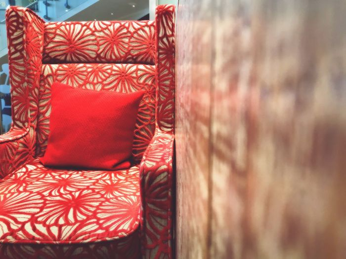 Costa Coffee Cafe Lifestyle Red Chair Textures & Surfaces Morning Coffee Start The Day Tranquil Peaceful Interior Design