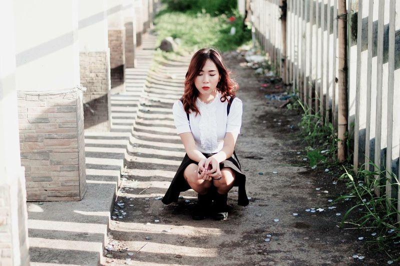 https://www.instagram.com/ynonsia Asian Girl Portrait EyeEm Best Shots The Portraitist - 2016 EyeEm Awards Sunlight Shadow The Great Outdoors - 2016 EyeEm Awards Sad Showcase July