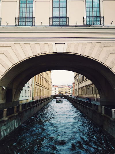 Bridge - Man Made Structure Arch Architecture Water Built Structure Day Outdoors No People Building Exterior City Sky