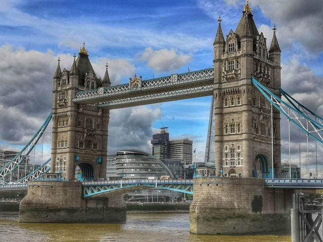 my favourite London bridge Tower Bridge  London Honor 10 United Kingdom Blue Sky And Clouds Art is Everywhere City Water Cityscape Urban Skyline Clock Tower Bridge - Man Made Structure Ferris Wheel River Cultures Sky Tower Suspension Bridge Tall - High Boat Waterfront City Break Skyline