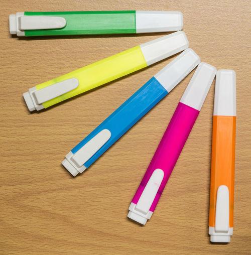 Magic Pen on wood floor Color Color Magic Floor Highlight Color Pen Highlight Pen Magic Magic Pen Multi Colored Multicolor Pen Wood Wood Floor