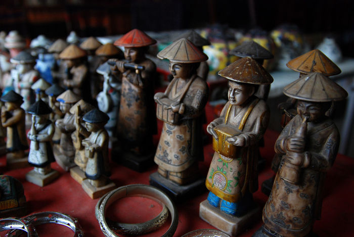 ASIA Luangprabang Shopping Statue Travel Antique Art And Craft Close-up Day Figurine  Human Representation Indoors  Laos Large Group Of Objects Male Likeness Market No People Sculpture Souvenirs Statue Status Table Traditional Weapon