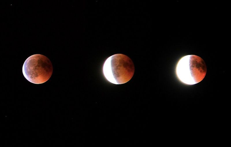 Total lunar eclipse Lunar Total Lunar Eclipse Lunar Eclipse Totallunareclipse Night Space Moon Astronomy Sky Circle Geometric Shape Orange Color Eclipse Planetary Moon
