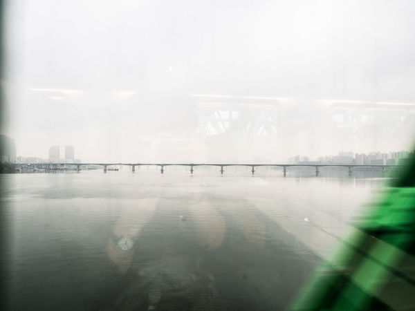 Bridge Han River Han River Bridge Korea Rain Rainy Day Rainy Days Seoul Seoul, Korea Water