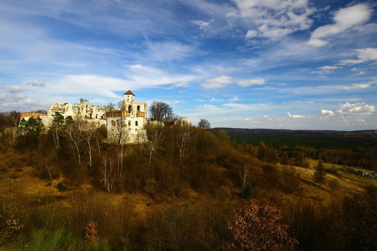 Architecture Autumn Beauty In Nature Building Exterior Castle Day Grass History Landscape Nature No People Outdoors Scenics Sky Tenczynek Tranquility Tree
