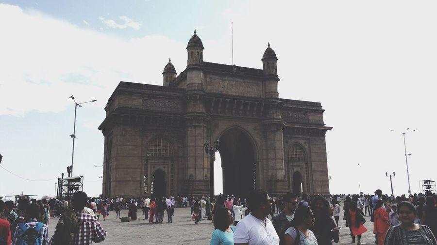 Gateway of India. Mumbai MumbaiDiaries Mumbaimerijaan Gatewayofindia Iphone6 IPhoneography Iphone6 Shot