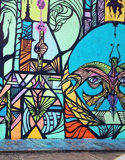 Graffiti Downtown District Art Is Everywhere HOustONArt Painting Culture