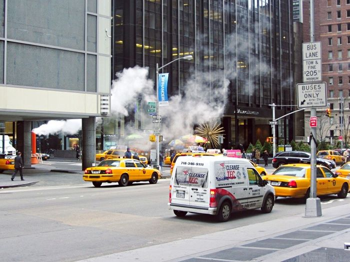 Lively chaos. Newyork NYC Yellow Cabs Traveler Traveling Chaos Noise USA