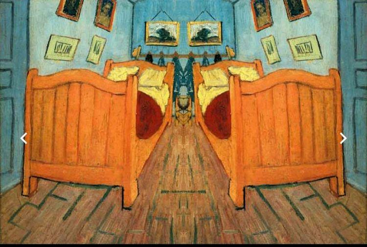 Mirror Image Van Gogh Vincent Van Gogh Van Gogh World