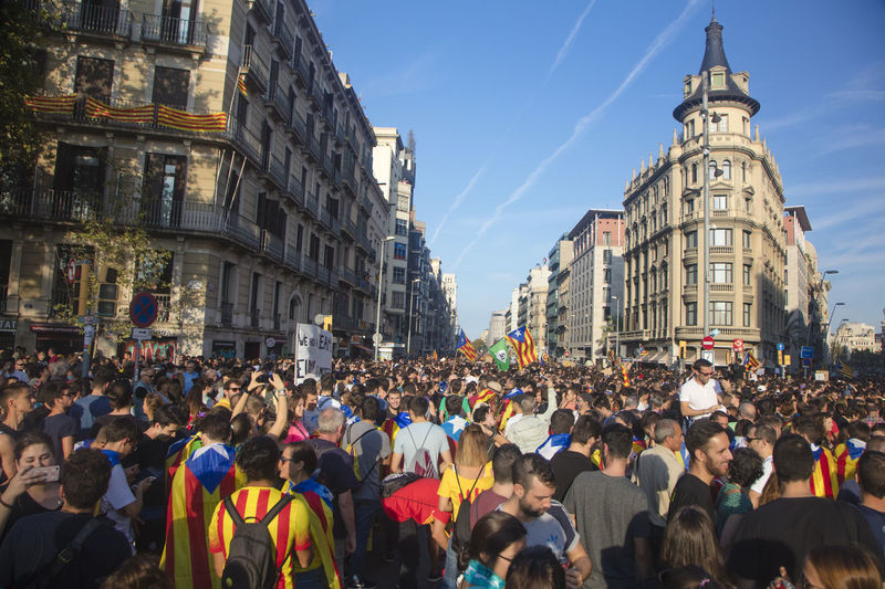 Barcelona Catalonia Catalonia Is Not Spain Democracy Freedom Independence Independencia Politics Protest Protest Signs Protests Rights Challenge Crowd Democratic Independent  March Political Politics And Government Protesters Protesting Protestor Protestors Riot Riots