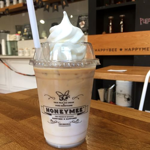 Losangeles SoCal Honeymee Drink Food And Drink Refreshment Table Milk Iced Coffee Day