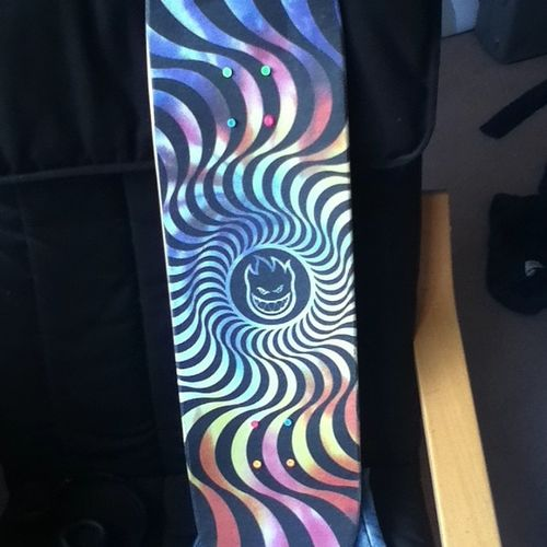 Just need to wait for trucks to arrive omg :000 fucking yesss Mobgrip Skate Skateboard Enuff