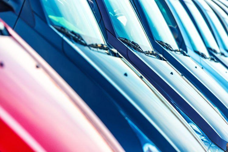 Full Frame Shot Of Cars
