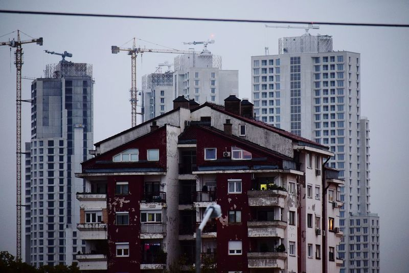 Cevahir Sky City in Skopje, Macedonia, under construction (2017) Architecture Skyscraper Building Exterior Built Structure Construction Site Construction Work New And Old Cityscape Urban Skyline Colour Your Horizn Adventures In The City The Architect - 2018 EyeEm Awards #urbanana: The Urban Playground My Best Travel Photo A New Beginning