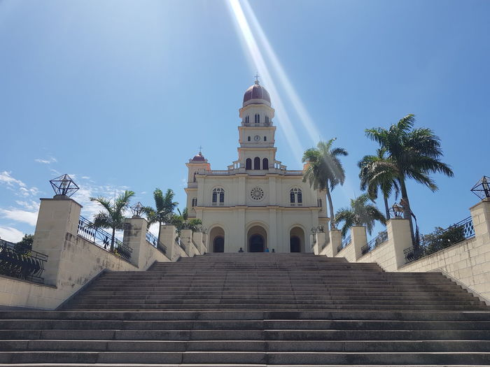 City Clear Sky Steps Steps And Staircases Staircase History Sky Architecture Building Exterior Travel Place Of Worship Cathedral