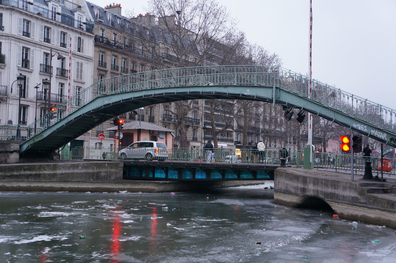 bridge - man made structure, architecture, connection, built structure, water, transportation, river, waterfront, day, building exterior, arch, outdoors, bridge, no people, nature, sky, city, under