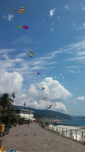 Aquiloni Lavagna Liguria Levante kite Kites Sky Landscape Sea seafront Beach Life Beachphotography Lavagna Italy Lavagna Colorata Liguria,Italy Ligurian Coast. Liguria Di Levante LiguriaMonAmour Ligurian Riviera Liguriansea Liguria2016