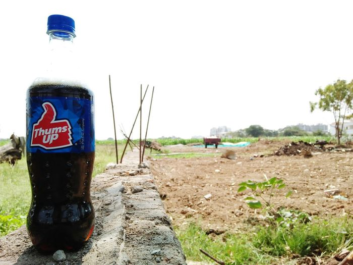 thums up Thums Up Bottle Soft Drink Thums Up Thumsup Thumsup Indian Cold Drink Day No People Outdoors Sky EyeEmNewHere