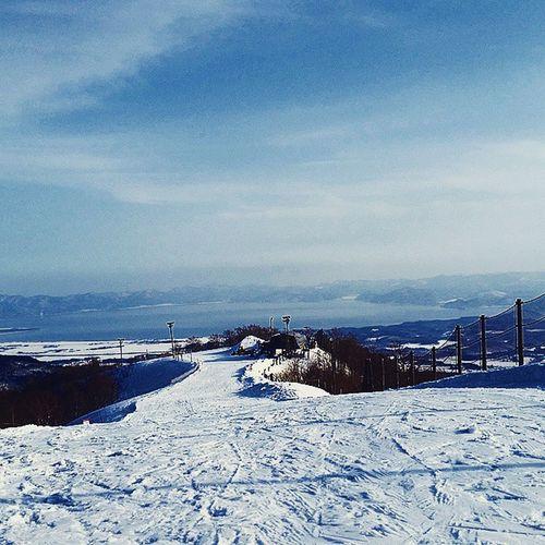 SNOWANGEL CAMP in ALTS BANDAI Snowangel ANGELになれたかしら 帰り道シリーズ 猪苗代湖 アルツ磐梯スキー場 ALTS_BANDAI 福島 FUKUSHIMA Happy
