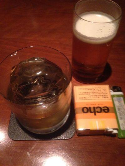 いつもの。。 Jameson Bar Valley Beer Drinking