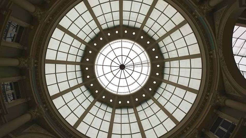 Dome Architecture Indoors  Built Structure Cupola No People Concentric Travel Destinations Sky City (c) 2018 Shangita Bose All Rights Reserved The Hague, The Netherlands Passage The Graphic City