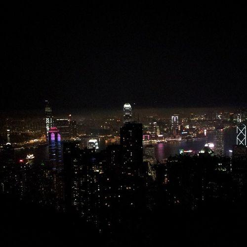HongKong Thepeak Night City