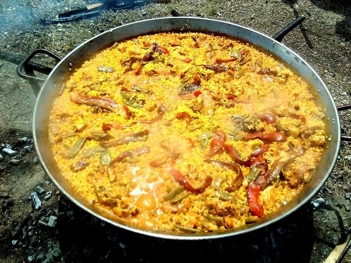 Spanish Paella Spanish Tradition Spanish Food PaellaValenciana Sanisidro2018 Valencia, Spain Spain ✈️🇪🇸 SanIsidro Preparing Food Paellas Outdoors Cooking Life FIESTASDEALICANTE Preparing For An Event Spainphotographer High Angle View Bowl Directly Above Close-up Food And Drink Prepared Prepared Food Pan Frying Pan Skillet- Cooking Pan Cooking Pan Fried Stove Delicious Tasty Burner - Stove Top