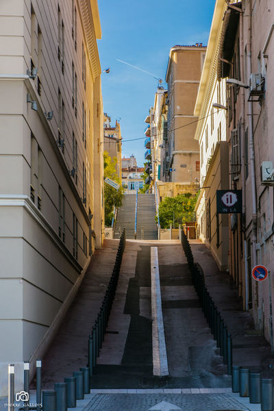 Architecture Building Exterior Built Structure City Day France Marseille No People Outdoors Residential Building Sky The Way Forward