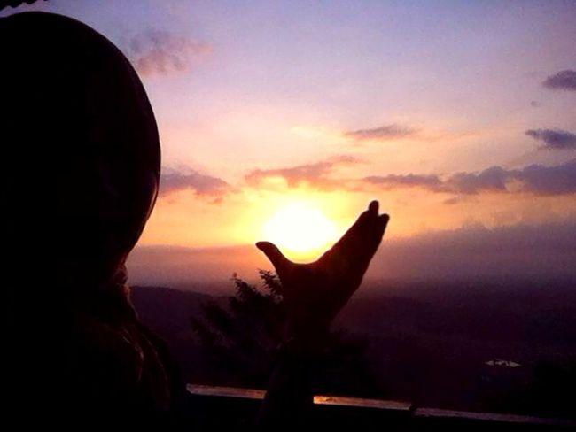 HELLO SUNSET Yogyakarta INDONESIA Siluette Sunset