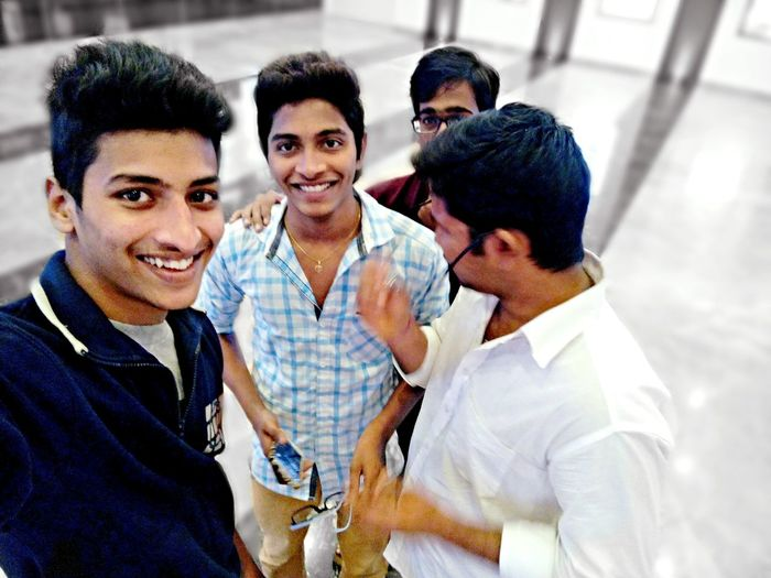 Frnds they r always awsm Nd..... No happiness without frnds.... 😉😃