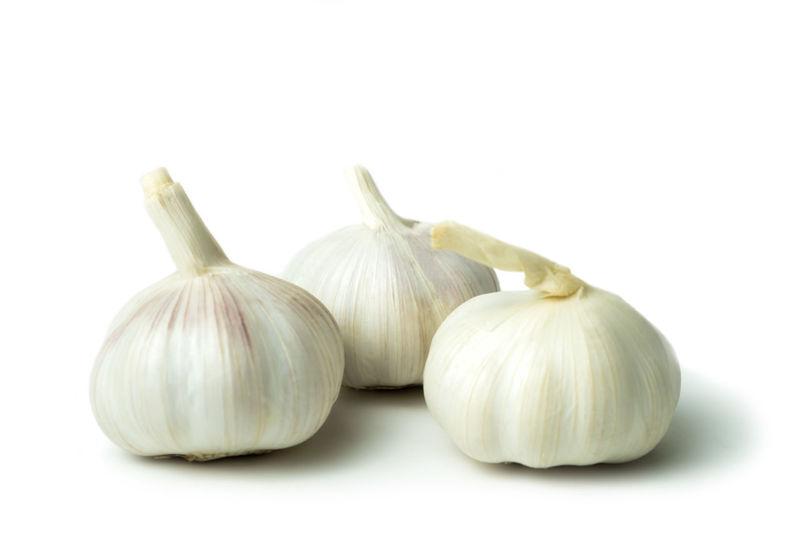 Allium Freshness Garlic Isolated Oligosaccharide Arginine Bulb Close-up Food Food And Drink Fresh Freshness Garlic Garlic Clove Group Of Objects Healthy Eating Sativum Spice Vegetable White Background