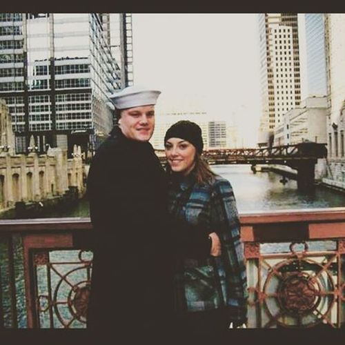 Old school back in the day in Chicago. @thebrookelewis