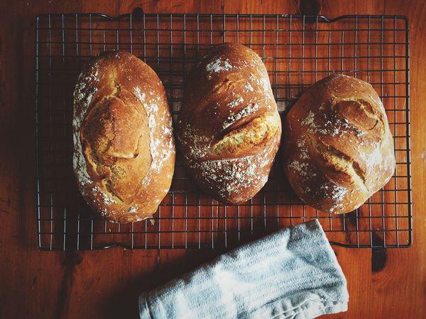 Bread Bake Boule Homemade