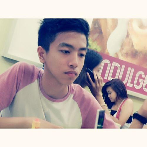 Eating with Her:)