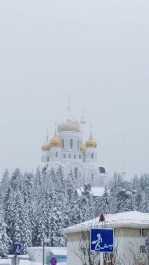 My Town Temple Siberia г.Ханты-Мансийск Khanty-Mansiysk дыхание севера мойгород сибирь